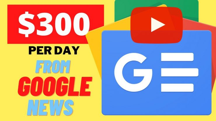 Write Online for Money With News Website Google News